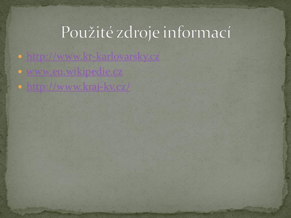 http://www.kr-karlovarsky.cz www.eu.wikipedie.cz http://www.kraj-kv.cz/