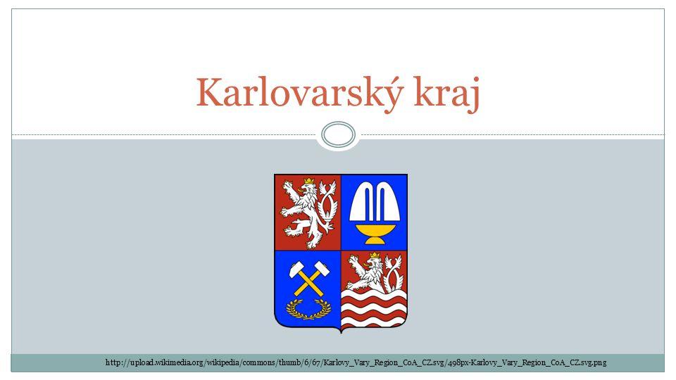 Karlovarský kraj http://upload.wikimedia.org/wikipedia/commons/thumb/6/67/Karlovy_Vary_Region_CoA_CZ.svg/498px-Karlovy_Vary_Region_CoA_CZ.svg.png