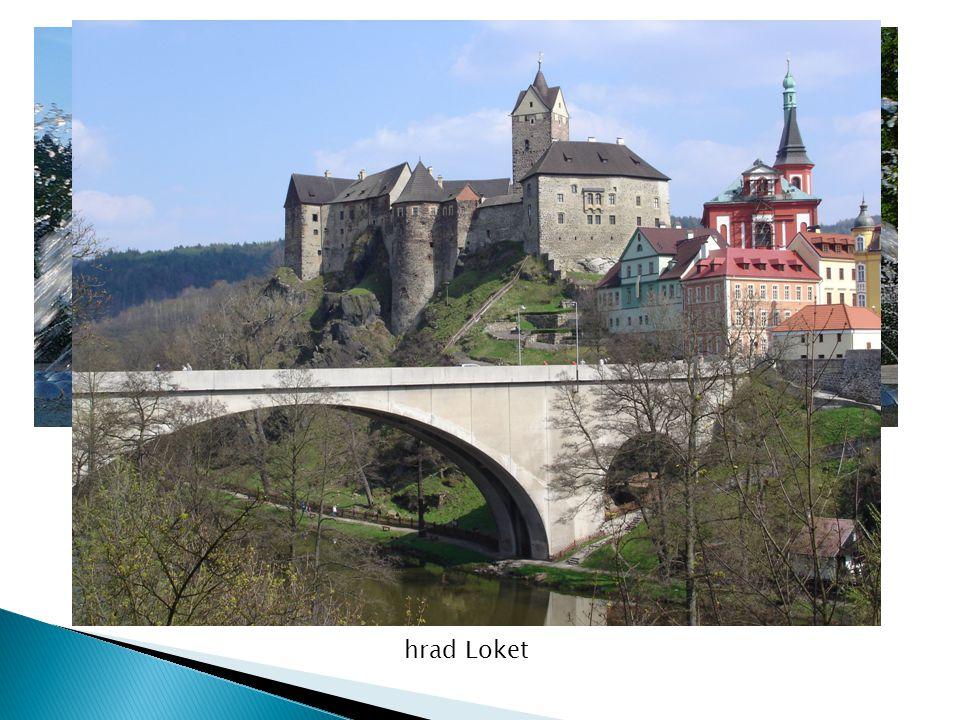 Mariánské lázně hrad Loket