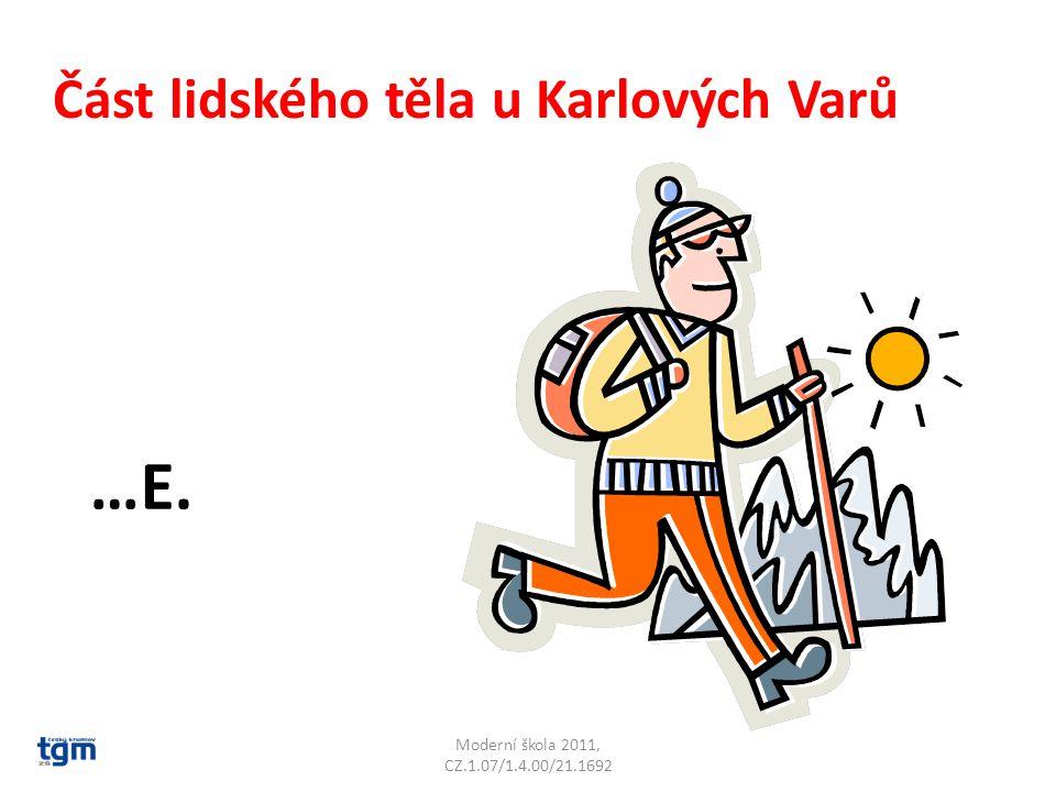 Moderní škola 2011, CZ.1.07/1.4.00/21.1692 Název kóty 991 u Kraslic.P…. Špičák