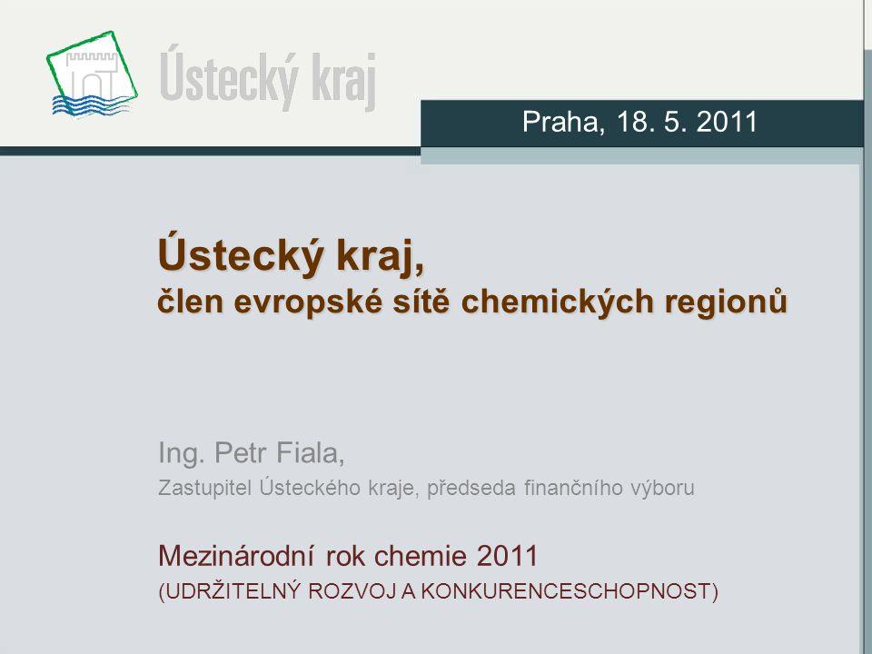 Ústecký kraj, člen evropské sítě chemických regionů Ing.