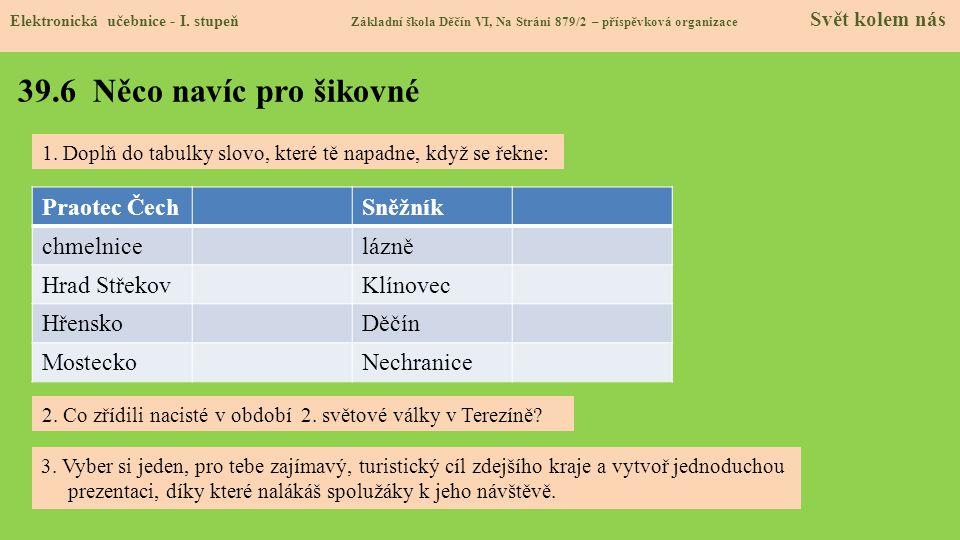 39.7 Region Elektronická učebnice - I.
