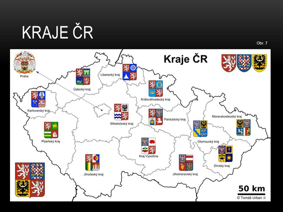 KRAJE ČR Obr. 7