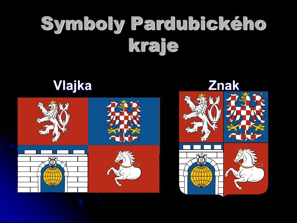 Vlajka Znak Symboly Pardubického kraje