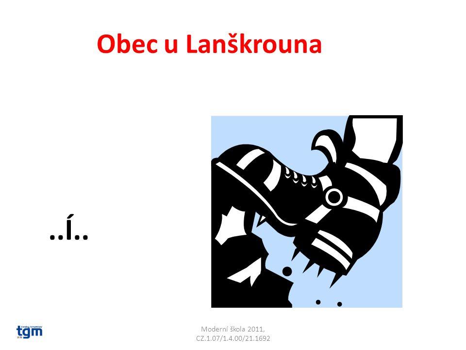 Moderní škola 2011, CZ.1.07/1.4.00/21.1692 Na které řece leží Hradec u Moravské Třebové …T… Svitava