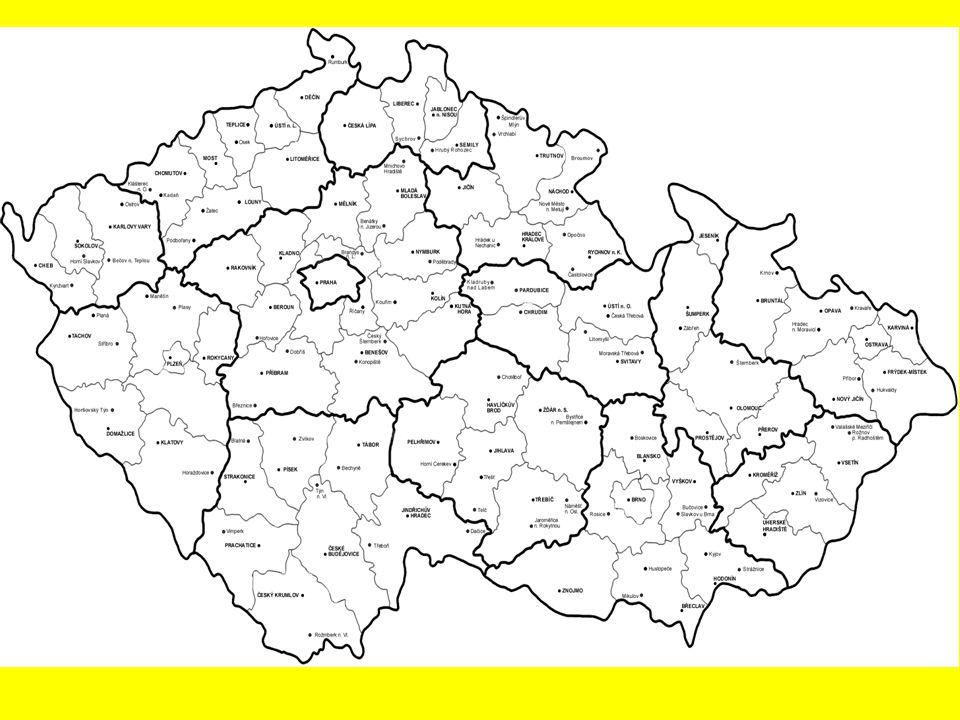 1) Pardubice 2) Chrudim 3) Ústí n. Orlicí 4) Svitavy
