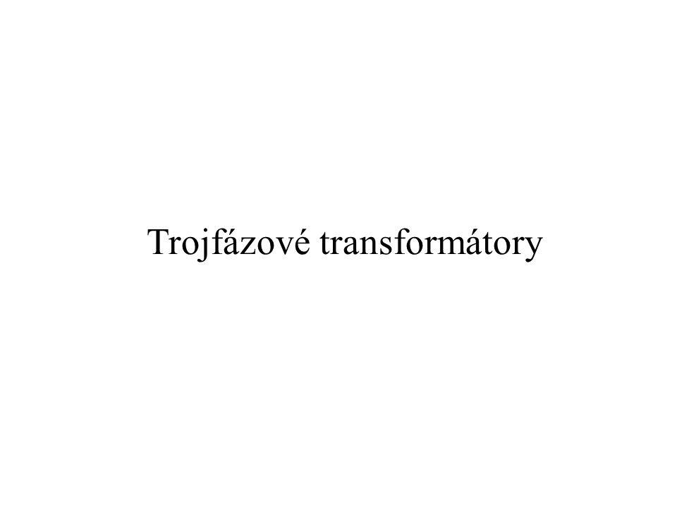 Trojfázové transformátory