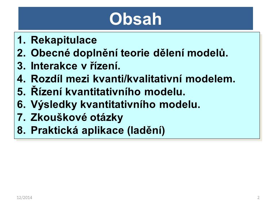 12/20143 Rekapitulace 1.Opakované údaje ODKAZOVAT!!.