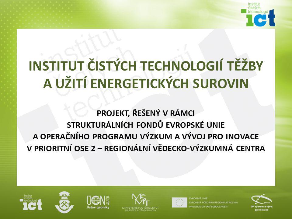 """Cíl projektu výzkum efektivních způsobů získávání surovin, které by měly minimální dopady na životní prostředí těžba musí být maximálně ekonomická a přitom ekologicky šetrná výsledky vědeckého výzkumu budou v souladu se závěry """"Raw Materials Initiative (Europeans Minerals Forum 2008) pro zajištění maximálně možné surovinové soběstačnosti rovněž plně aplikovatelné v zemích Evropské unie"""