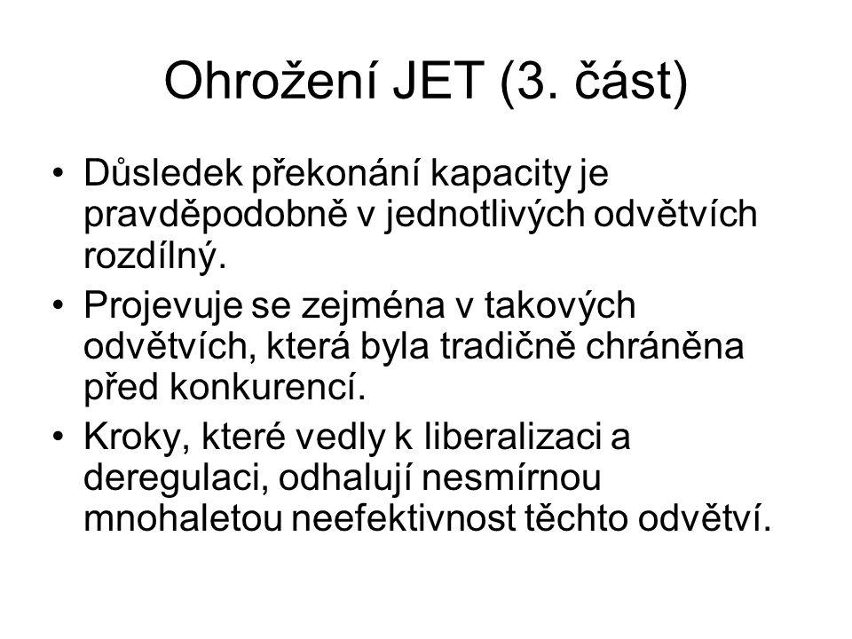 Ohrožení JET (3.