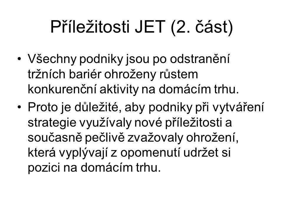 Příležitosti JET (2.