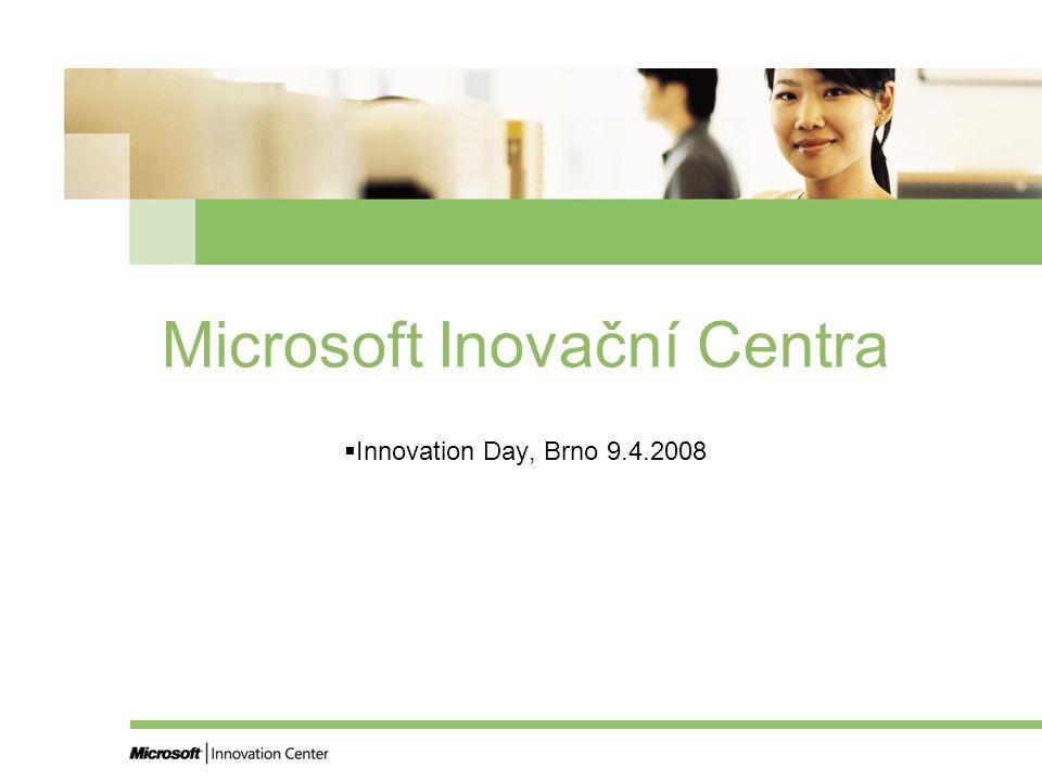 Microsoft Inovační Centra  Innovation Day, Brno 9.4.2008