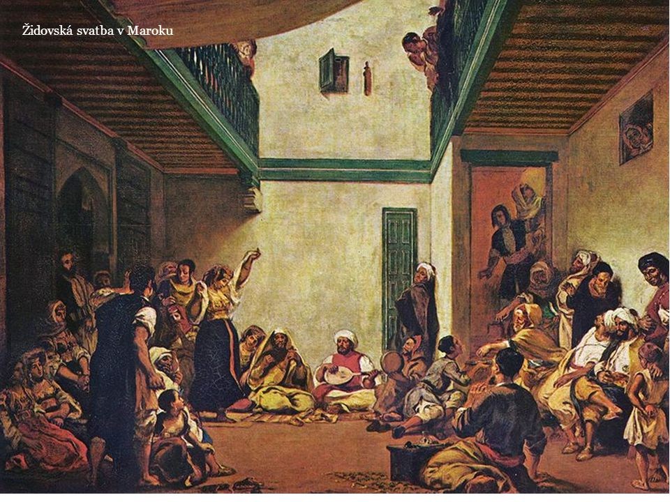Židovská svatba v Maroku