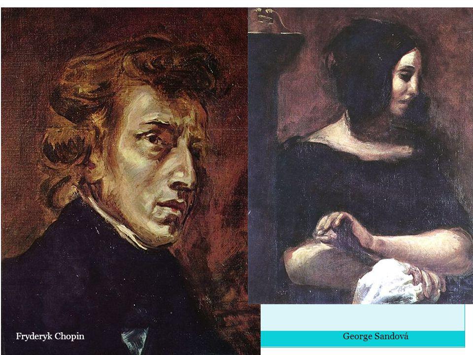Fryderyk Chopin George Sandová