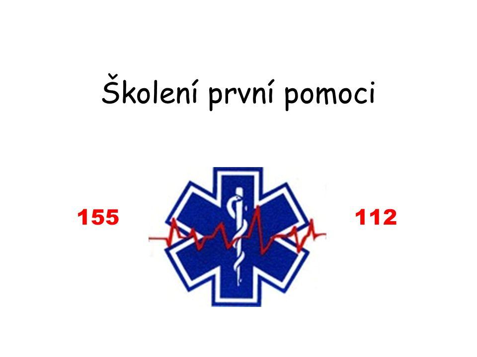 Školení první pomoci 155 112