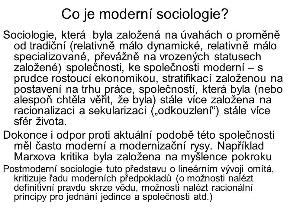 """Zdroje postmodernismu ve filosofii a sociální teorii Filosofie Friedricha Nietzscheho Filosofie pragmatismu Filosofie Wittgensteinova Poststrukturalismus –U všech těchto autorů a směrů je důraz kladen na význam jazyka pro poznání světa a s tím spojenou """"sociální zkonstruovanost reality"""