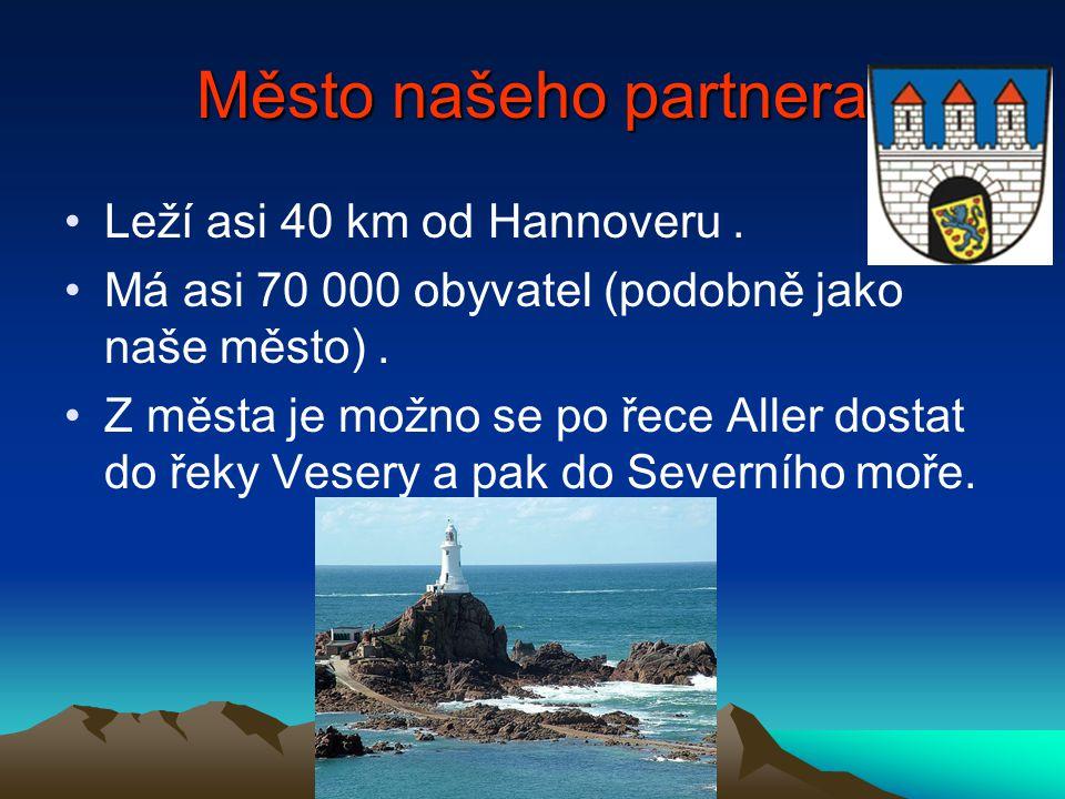 Město našeho partnera Leží asi 40 km od Hannoveru.