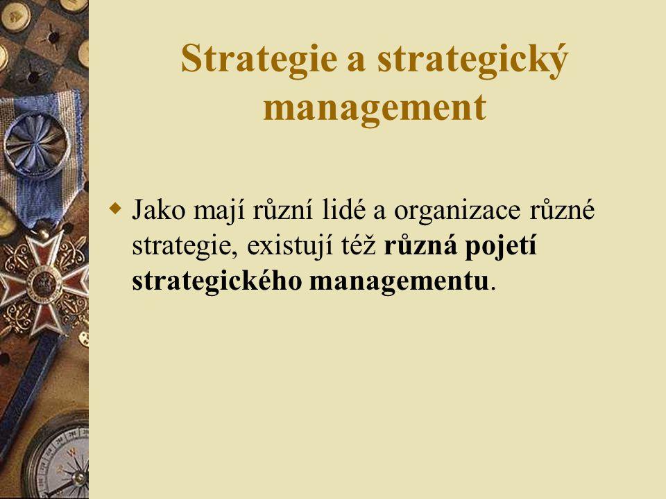 Pojetí strategického rozpětí (P. Skat-Rørdam)
