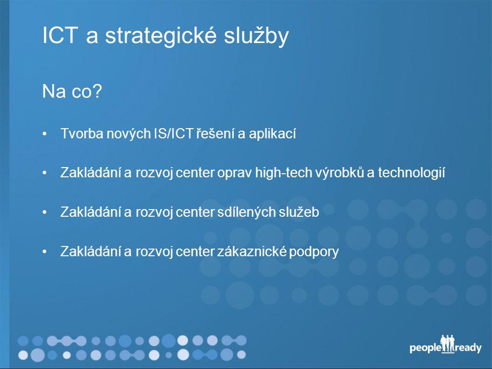 ICT a strategické služby Na co.