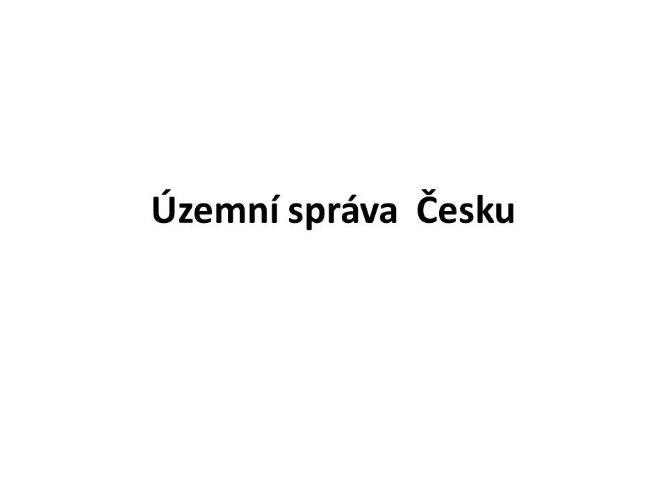 Územní správa Česku