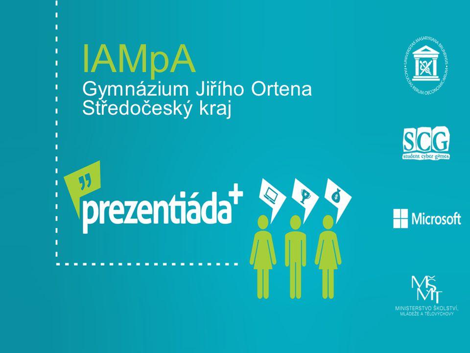 lAMpA Gymnázium Jiřího Ortena Středočeský kraj