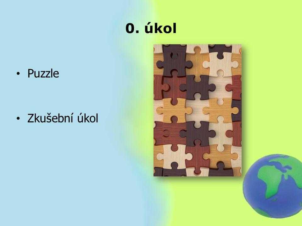0. úkol Puzzle Zkušební úkol