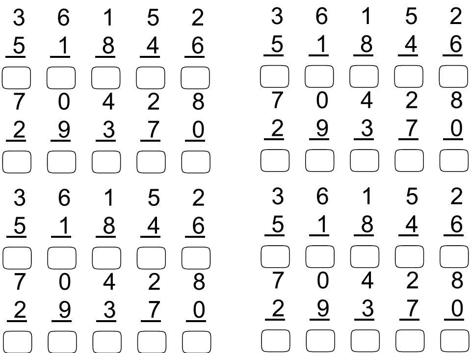 10152050 111213141617181967891234 0+8=8 0 8 8 x x