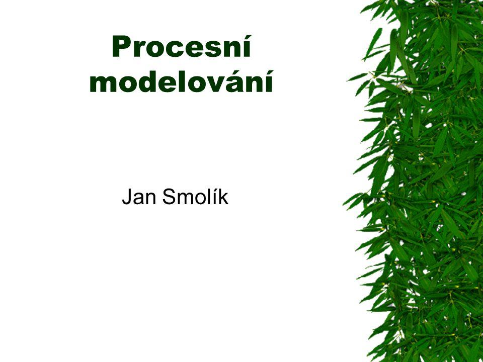 Procesní modelování Jan Smolík