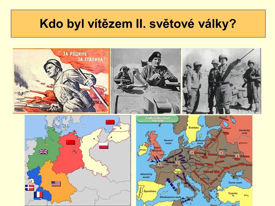 Kdo byl vítězem II. světové války