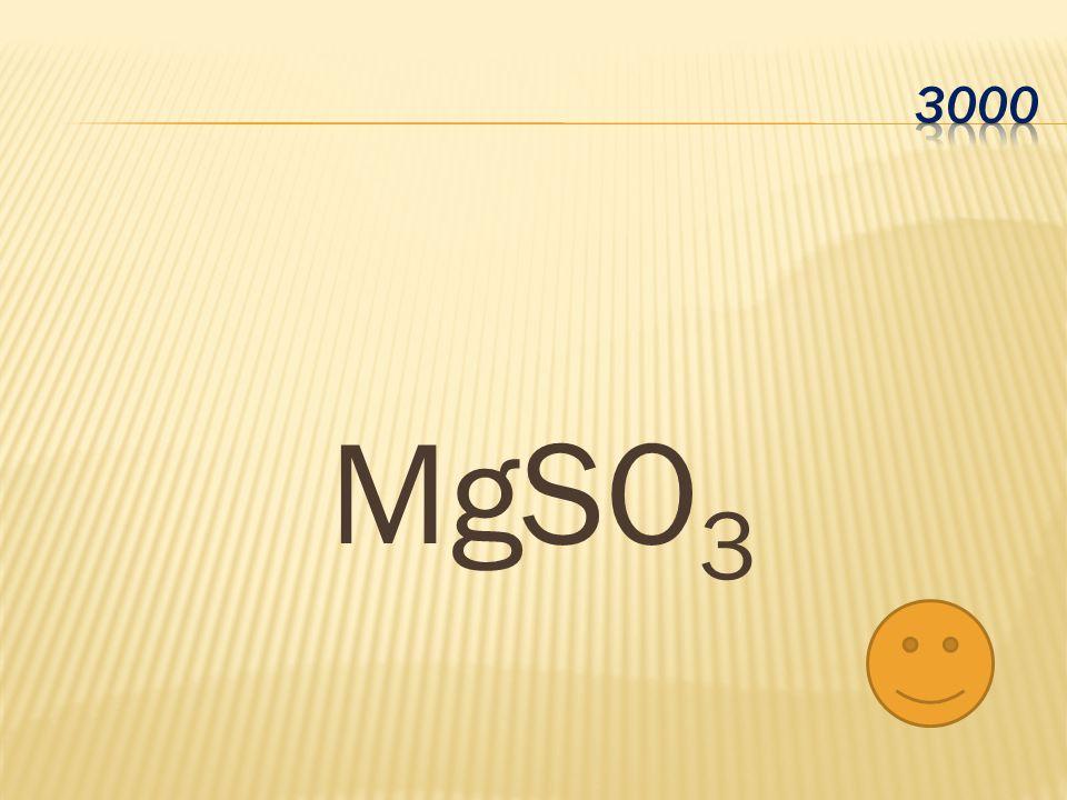 MgSO 3