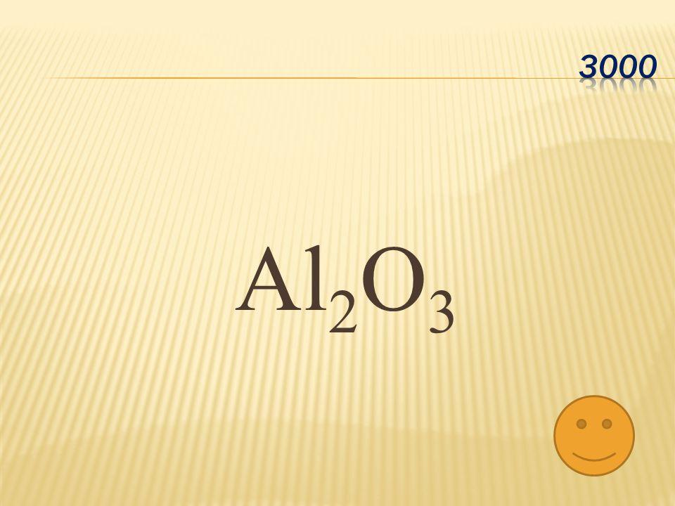 Al 2 O 3