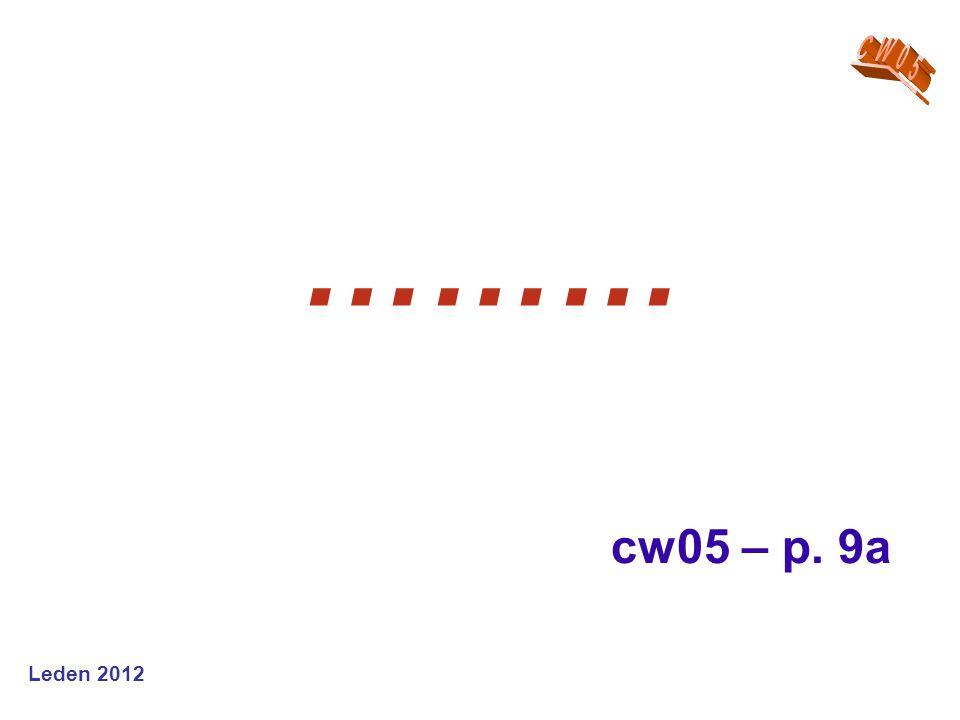 ……… cw05 – p. 9a
