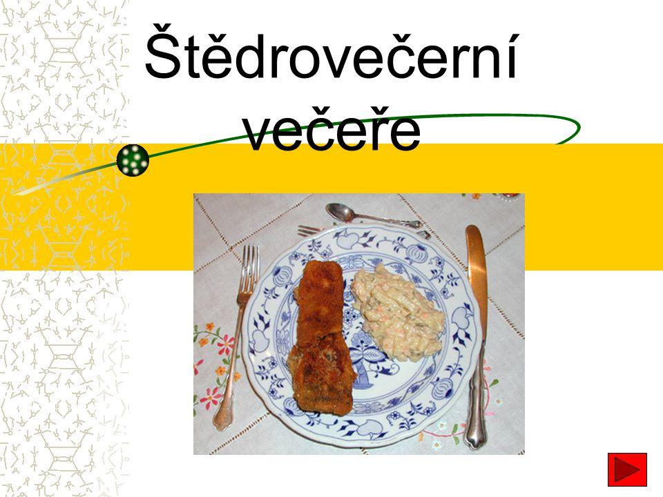 Štědrovečerní večeře