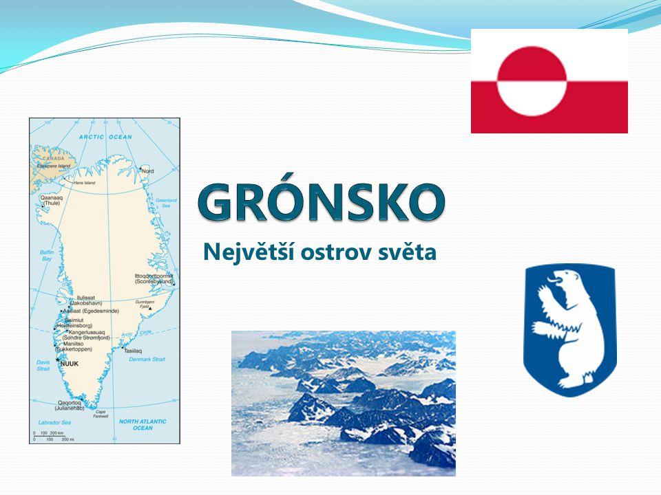 Grónsko Rozloha:2,2 mil.