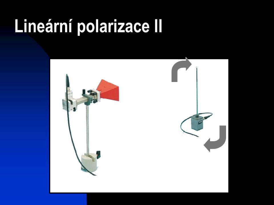 Lineární polarizace II
