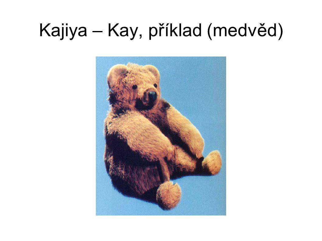 Kajiya – Kay, příklad (medvěd)