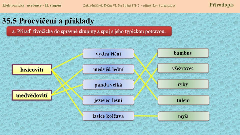 35.6 další zástupci šelem Elektronická učebnice - II.