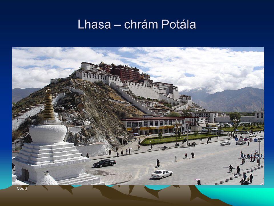 Lhasa – chrám Potála Obr. 3