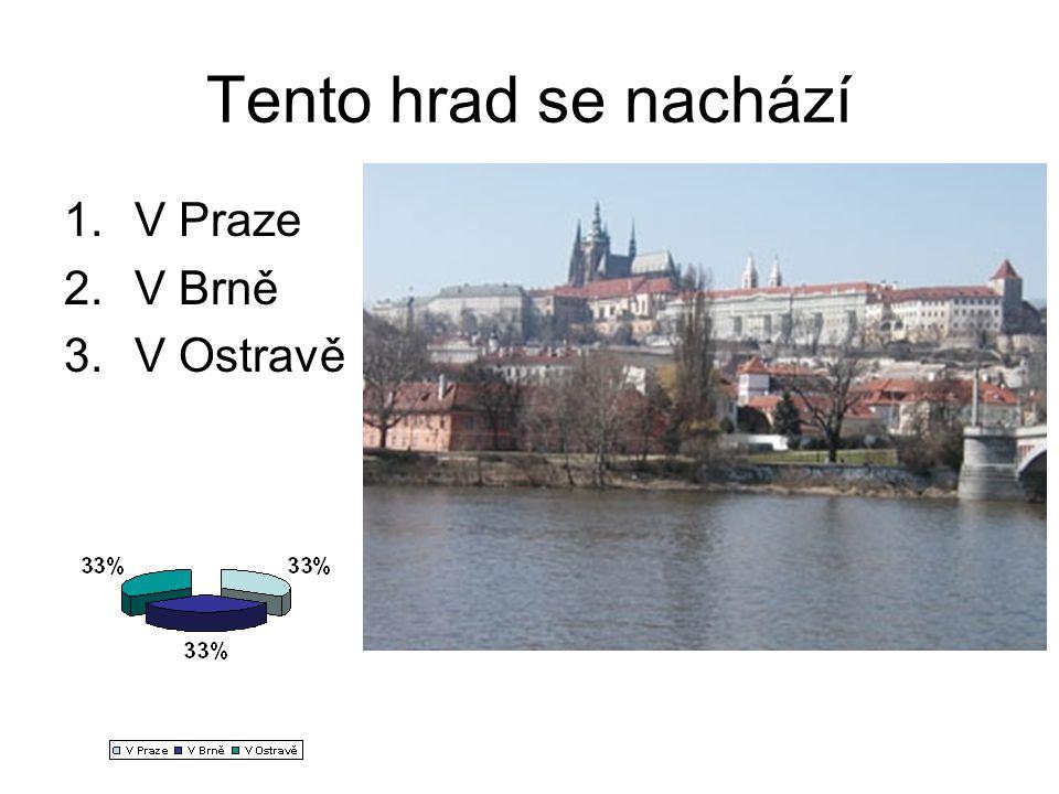 Tento hrad se nachází 1.V Praze 2.V Brně 3.V Ostravě