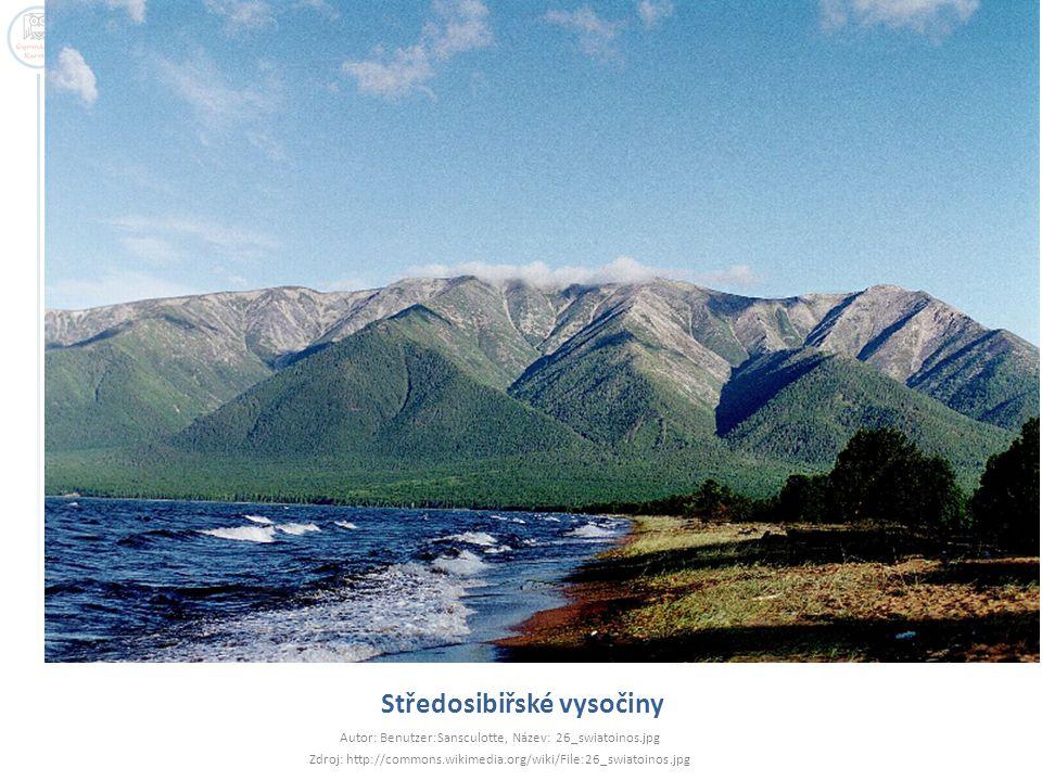 Středosibiřské vysočiny Autor: Benutzer:Sansculotte, Název: 26_swiatoinos.jpg Zdroj: http://commons.wikimedia.org/wiki/File:26_swiatoinos.jpg