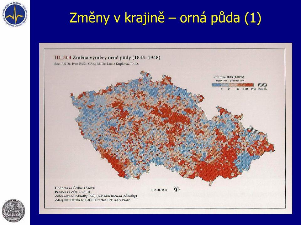Změny v krajině – orná půda (1)