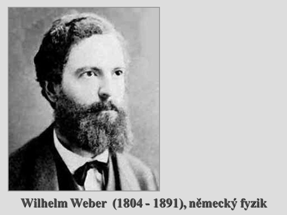 Wilhelm Weber (1804 - 1891), německý fyzik