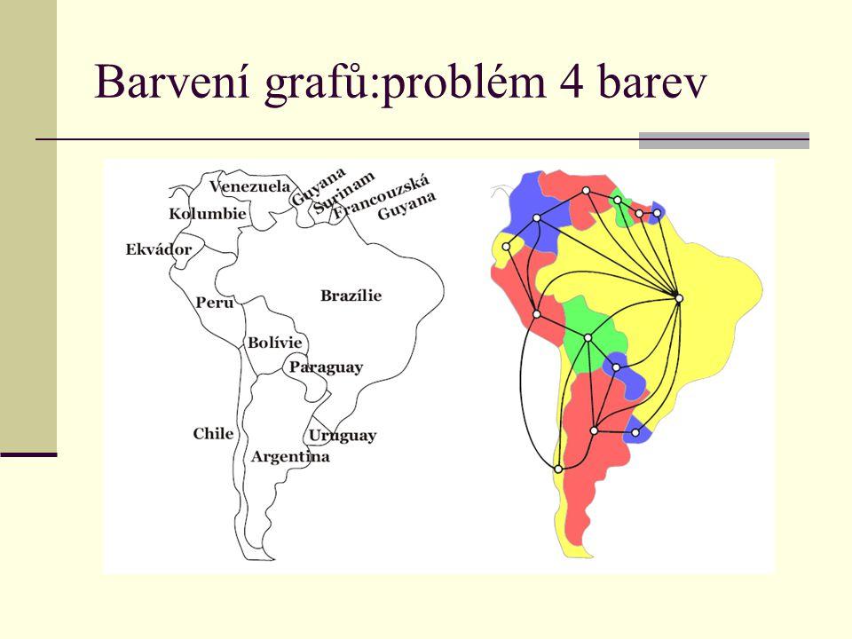 Barvení grafů:problém 4 barev