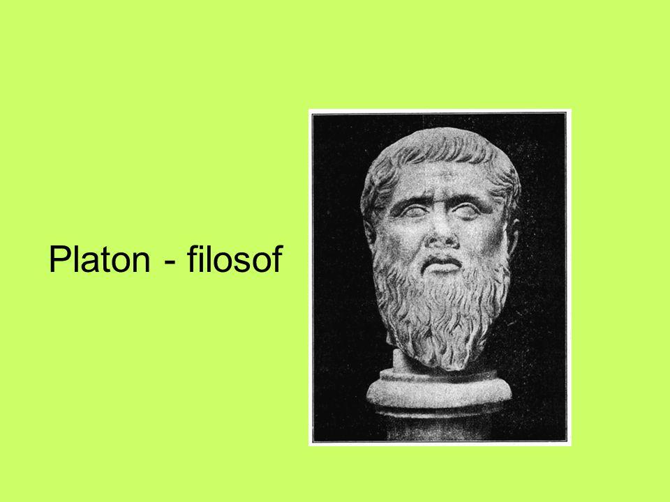 Platon - filosof