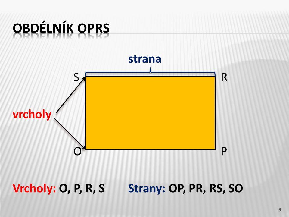 strana S R vrcholy O P Vrcholy: O, P, R, SStrany: OP, PR, RS, SO 4