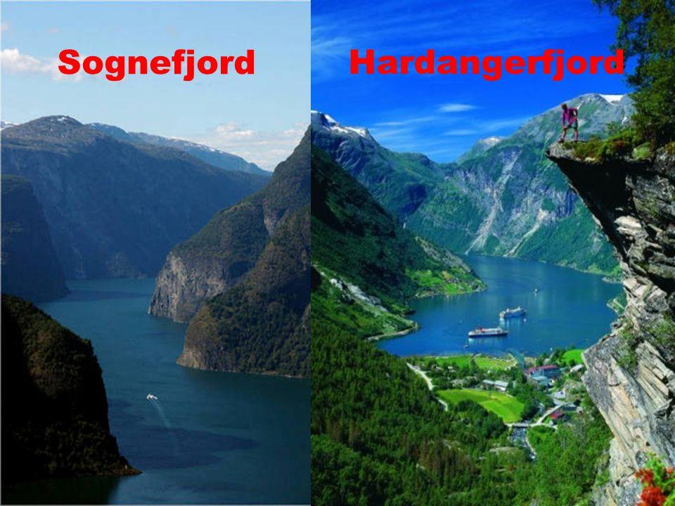Sognefjord Hardangerfjord