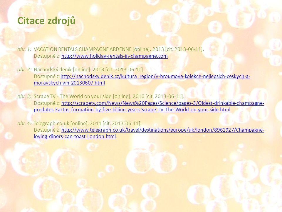 obr. 1: VACATION RENTALS CHAMPAGNE ARDENNE [online]. 2013 [cit. 2013-06-11]. Dostupné z: http://www.holiday-rentals-in-champagne.comhttp://www.holiday