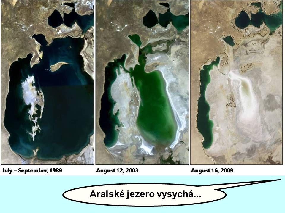 Aralské jezero vysychá...
