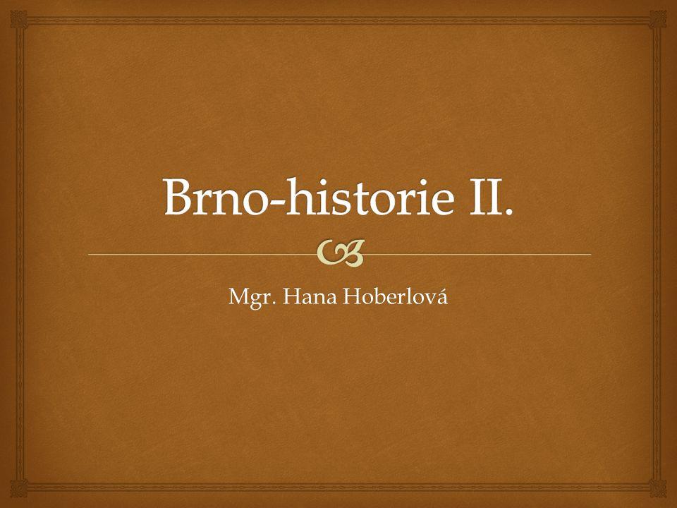   Průmysl se v Brně začal rozvíjet od r.1763.  Tehdy byla založena první textilní manufaktura.