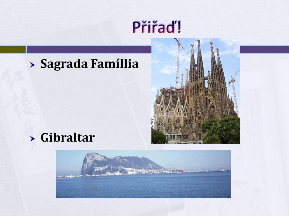  Sagrada Famíllia  Gibraltar